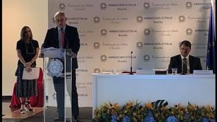 BRASILIA: LE IMPRESE ITALIANE INCONTRANO IL MINISTRO DELLE INFRASTRUTTURE BRASILIANO