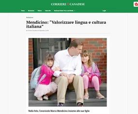 MENDICINO: VALORIZZARE LINGUA E CULTURA ITALIANA – di Giorgio Mitolo
