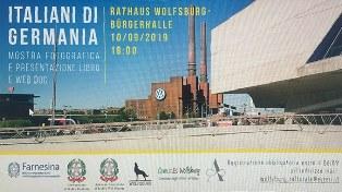 """WOLFSBURG CITTÀ ITALO-TEDESCA: INAUGURATA LA MOSTRA """"ITALIANI DI GERMANIA"""""""