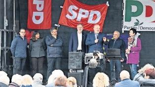GARAVINI (PD) A WOLFSBURG: MAI COME OGGI IMPORTANTE VOTARE PARTITI ADERENTI AL PSE ALLE EUROPEE