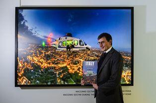 ORIZZONTI D'ITALIA DAGLI ELICOTTERI DELLA POLIZIA DI STATO: LE FOTO DI MASSIMO SESTINI AL MAMM DI MOSCA