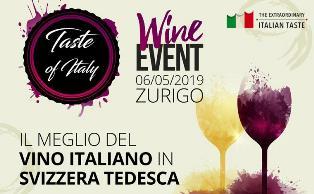 TASTE OF ITALY: IL VINO ITALIANO A ZURIGO CON LA CCIS