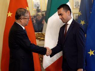 ITALIA-CINA: DI MAIO INCONTRA LI HONGZHONG