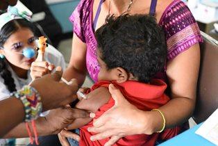 VENEZUELA: L'UNICEF A SUPPORTO DELLA CAMPAGNA PER VACCINARE OLTRE 3 MILIONI DI BAMBINI CONTRO LA POLIO