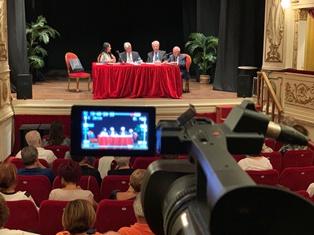 """""""VITA DA EMIGRANTE"""" : ALDERISI (FI) A VASTO PER LA PRESENTAZIONE DEL LIBRO DI ENZO IUSTINI"""