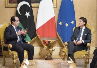 LIBIA: CONTE INCONTRA MAITIG