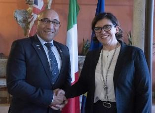 IL MINISTRO DELLA DIFESA TRENTA INCONTRA IL COLLEGA DELLA NUOVA ZELANDA RON MARK