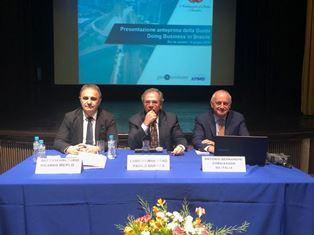 RIO DE JANEIRO: IL MINISTRO PAULO GUEDES INCONTRA LE IMPRESE ITALIANE CON IL SOTTOSEGRETARIO MERLO