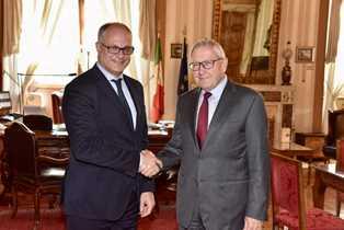 IL MINISTRO GUALTIERI INCONTRA IL DIRETTORE ESECUTIVO DELLO EUROPEAN STABILITY MECHANISM