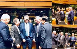 MOAVERO A LUSSEMBURGO: INCONTRI BILATERALI A LATERE DEL CONSIGLIO AFFARI ESTERI DELL'UE
