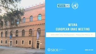 ROMA: ALLA SIOI IL MEETING DELLE ASSOCIAZIONI EUROPEE DELLE NAZIONI UNITE (UNAS)
