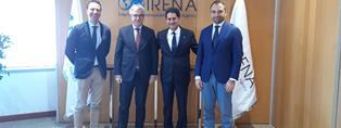 L'AMBASCIATORE STELLINO ACCOGLIE UNA DELEGAZIONE DEL POLITECNICO DI TORINO IN MISISONE NEGLI EMIRATI ARABI