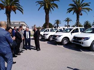 IMMIGRAZIONE CLANDESTINA: L'ITALIA DONA 50 FUORISTRADA ALLA GUARDIA NAZIONALE TUNISINA
