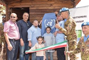 UNIFIL: IL CONTINGENTE ITALIANO AL FIANCO DELLA POPOLAZIONE LIBANESE