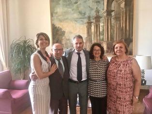 ALFREDO ALBIERI INCONTRA GLI EX CONSOLI RUSSI VARRIALE E CALISTI