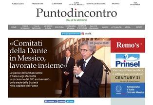 L'AMBASCIATORE MACCOTTA: COMITATI DELLA DANTE IN MESSICO LAVORATE INSIEME - di Massimo Barzizza