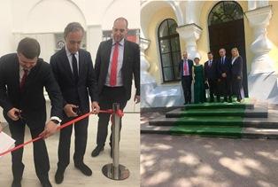 PROMUOVERE L'ITALIANO RUSSIA: TERRACCIANO INAUGURA IL CENTRO ITALIANO A VELIKIJ NOVGOROD