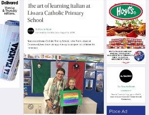 L'ARTE DI IMPARARE L'ITALIANO ALLA LIWARA CATHOLIC PRIMARY SCHOOL – di Rosaria Rossi