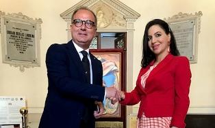 LA MARCA (PD) A NOTO PER L'INAUGURAZIONE DELLA 40° EDIZIONE DELL'INFIORATA E DI CASA AMERICA