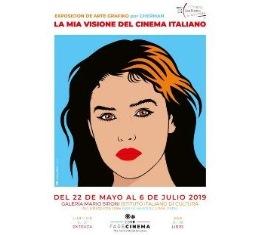 """""""LA MIA VISIONE DEL CINEMA ITALIANO"""": FARE CINEMA IN MOSTRA A LIMA CON L'ARTISTA GRAFICO CHERMAN"""