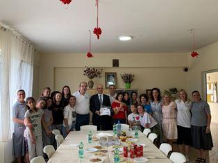 ITALIA – ALBANIA: L'AMBASCIATORE CUTILLO VISITA LE AZIENDE ITALIANE A LEZHE E SHENGJIN
