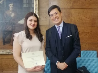 PROGRAMMA ERASMUS: STUDENTESSA ITALIANA PREMIATA A MADRID