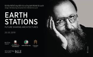 """EARTH STATIONS"": MICHELE DE LUCCHI A HO CHI MIN CITY PER L'IDD 2019"
