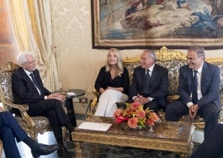 CONSULTAZIONI/ RICARDO MERLO AL QUIRINALE