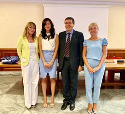 NISSOLI (FI) ALL'INCONTRO DELL'INTERGRUPPO PARLAMENTARE ITALIA – REPUBBLICA DOMINICANA CON L'AMBASCIATORE CANEPARI
