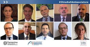 #CHIEDIALLAMBASCIATORE: LE DOMANDE DEGLI STUDENTI ITALIANI
