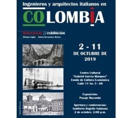"""CONTINUA CON SUCCESSO LA MOSTRA """"INGENIEROS E ARQUITECTOS ITALIANOS EN COLOMBIA"""": NUOVA TAPPA A BOGOTÀ"""