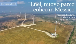 ENEL: NUOVO PARCO EOLICO IN MESSICO