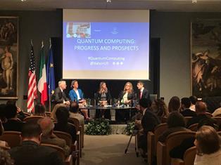 """""""QUANTUM COMPUTING"""" IN AMBASCIATA A WASHINGTON: LA COLLABORAZIONE TRA USA E ITALIA LANCIATA VERSO IL FUTURO"""