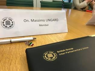 PARLAMENTO IN MISSIONE PRESSO LE ISTITUZIONI UK/ UNGARO (PD): ASSIEME PER LA STABILITÀ EUROPEA