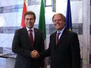 MOAVERO INCONTRA ALLA FARNESINA IL MINISTRO DEGLI ESTERI DEL PARAGUAY
