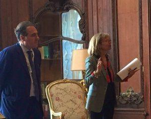AL CONSOLATO DI PARIGI LA PRIMA ASSEMBLEA GENERALE DEL COORDINAMENTO DELLE ASSOCIAZIONI DI PROFESSIONISTI ITALIANI