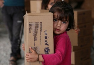 DALL'UNICEF L'APPELLO PER 1,1 MILIONI DI BAMBINI IN MEDIO ORIENTE E NORD AFRICA PER PROTEGGERLI DAL FREDDO