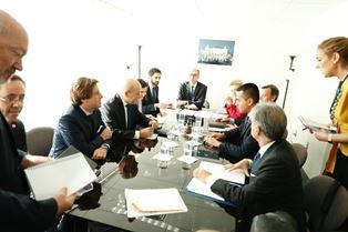 UNGA/ DI MAIO INCONTRA LE DRIAN
