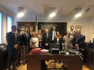 DELEGAZIONE PARLAMENTARE ITALIANA AL CONSOLATO GENERALE D