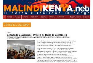 LEONARDO A MALINDI: EVENTO DI TUTTA LA COMUNITÀ - di Leni Frau