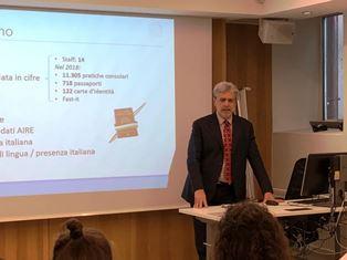 NORVEGIA: L'AMBASCIATORE COLELLA IN VISITA UFFICIALE A BERGEN