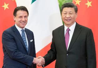 IL PRESIDENTE CONTE IN CINA