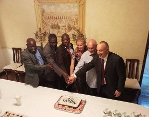 L'AMBASCIATORE FORNARA AI FESTEGGIAMENTI DEI 60 ANNI DELL'OSPEDALE DI LACOR IN UGANDA