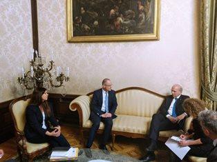 SPAZIO EUROPEO DELL'ISTRUZIONE: BUSSETTI INCONTRA IL COMMISSARIO NAVRACSICS