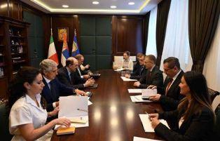 ITALIA E SERBIA INSIEME NELLA LOTTA ALL'IMMIGRAZIONE ILLEGALE: IL DG VIGNALI A BELGRADO