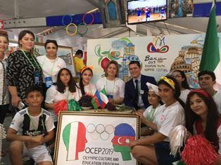 XV EUROPEAN YOUTH OLYMPIC FESTIVAL: A BAKU GLI EVENTI DELLA SCUOLA N.158 DEDICATI ALL'ITALIA