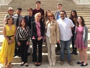 NISSOLI (FI) INCONTRA A ROMA GLI STUDENTI DI ITALIANO DELLA RICE UNIVERSITY (USA)