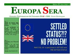 """BREXIT E NON SOLO: ONLINE IL NUOVO NUMERO DI """"EUROPA SERA"""""""