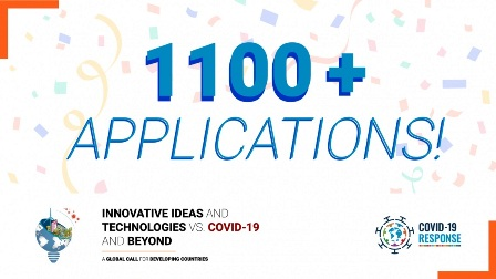 """IDEE E TECNOLOGIE INNOVATIVE VS. COVID-19 ED OLTRE"": 1100 CANDIDATURE RICEVUTE PER LA GLOBAL CALL DI UNIDO"