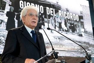 CODARIN (ANVGD): SU ESODO E FOIBE LA POSIZIONE DELLO STATO ITALIANO È STATA TRACCIATA DA MATTARELLA
